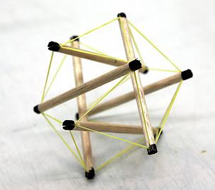 テンセグリティ構造1